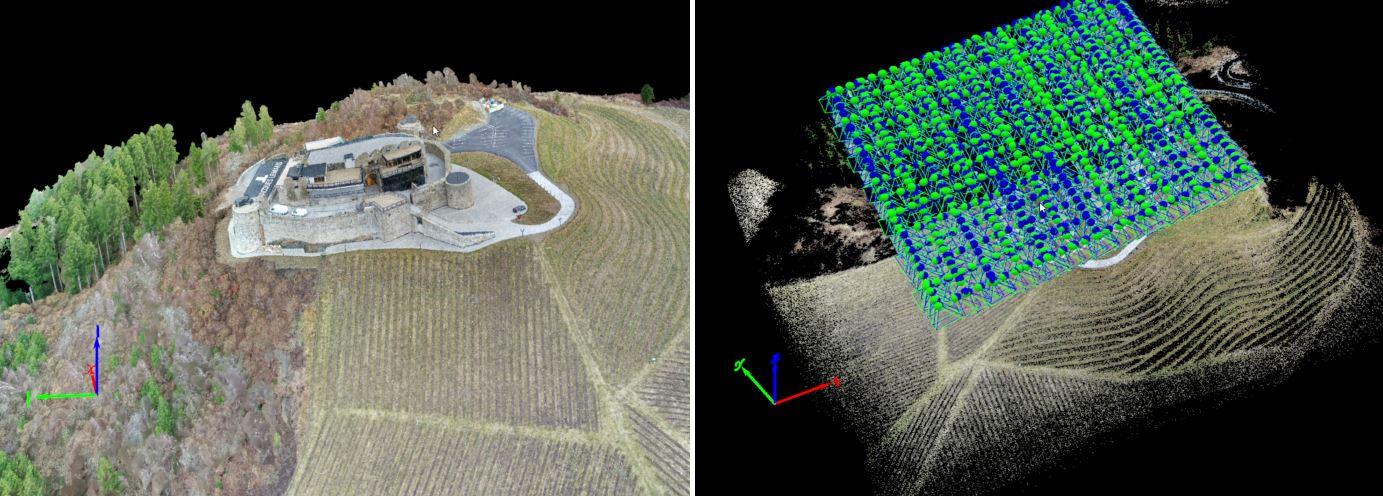 Mit Hilfe von Drohen kann man komplexe Oberflächenstrukturen erkennen. Orthofotos und 3D Mapping unterstützen die Bauausführung.